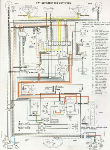 wiring diagram mg td replica  mg td headlights  mg td turn